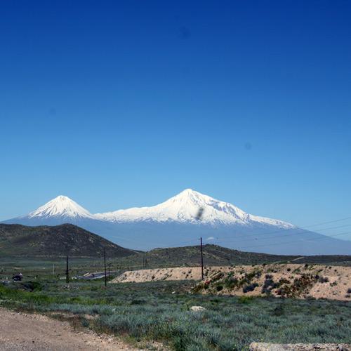 Armenien: Der große und der kleine Ararat